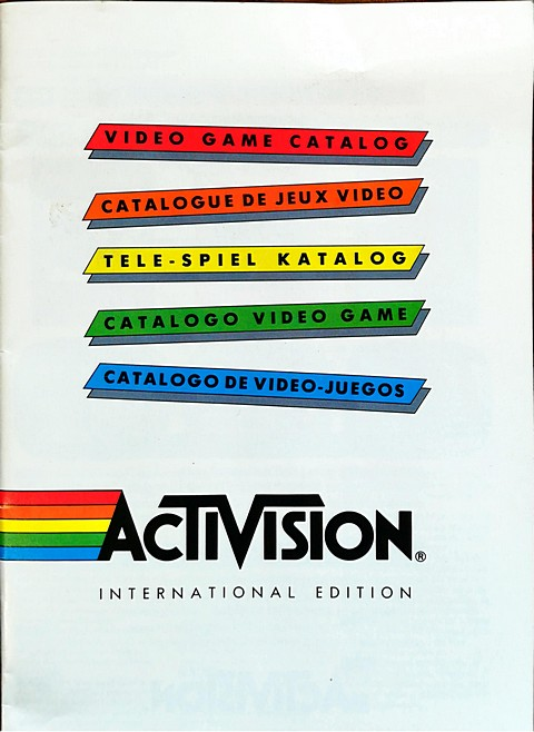Activision catalogo video games
