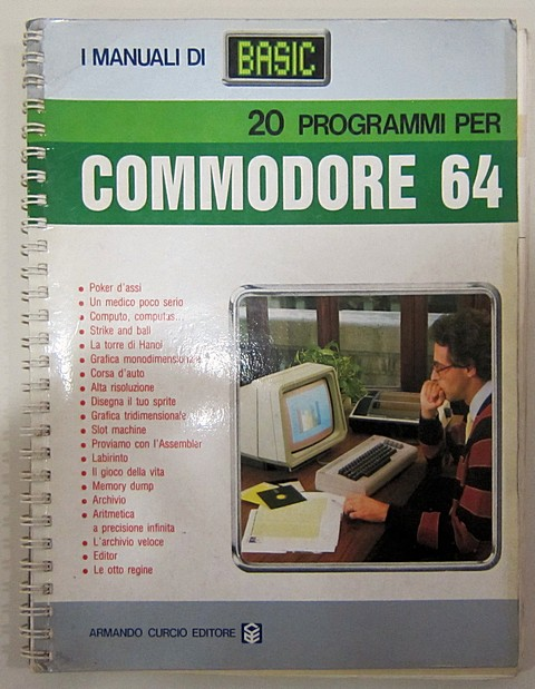 20 programmi per commodore 64