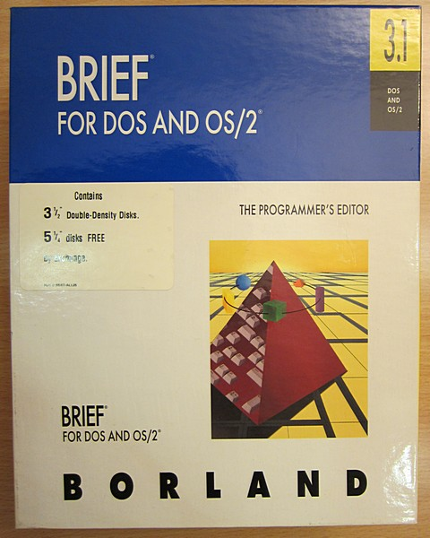 Brief for dos and os/2