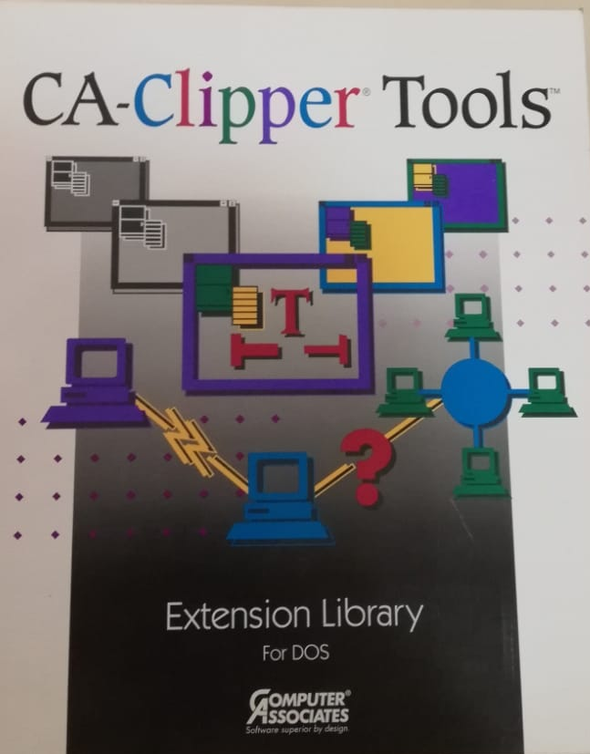 CA-Clipper TOOLS v.5.0 Extension library for DOS