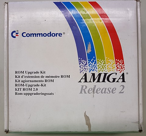 amiga release 2 rom upgrade kit